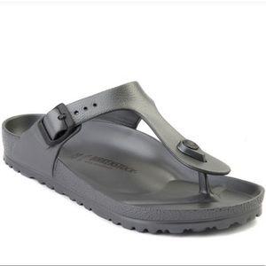 Womens Birkenstock Gizeh EVA Sandal - Anthracite